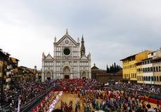 Fiorentino di storico di Calcio, Firenze Immagine Stock Libera da Diritti