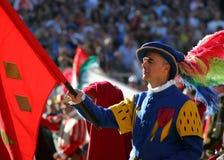 Fiorentino do storico de Calcio, Florença Fotos de Stock