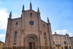 Fiorenzuola δ ` Arda Piacenza, καθεδρικός ναός Στοκ φωτογραφία με δικαίωμα ελεύθερης χρήσης