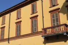 Fiorenzuola δ ` Arda Piacenza, παλαιό κτήριο Στοκ εικόνες με δικαίωμα ελεύθερης χρήσης