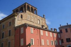 Fiorenzuola δ ` Arda Piacenza, παλαιό κτήριο Στοκ φωτογραφίες με δικαίωμα ελεύθερης χρήσης