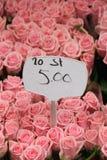 Fiori ad un mercato del fiore Fotografie Stock