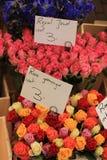 Fiori ad un mercato del fiore Fotografia Stock Libera da Diritti