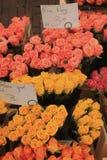 Fiori ad un mercato del fiore Immagine Stock Libera da Diritti