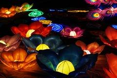 Fiori al festival di lanterna cinese fotografie stock libere da diritti