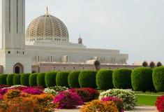 Fiori alla grande moschea nell'Oman Immagine Stock Libera da Diritti
