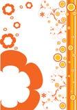Fiori arancioni Fotografia Stock