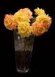 Fiori artificiali arancio e gialli Immagini Stock