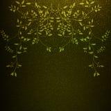 Fiori artificiali con le foglie Immagine Stock