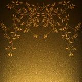 Fiori artificiali con le foglie Fotografia Stock