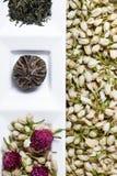 Fiori asciutti del tè Immagine Stock