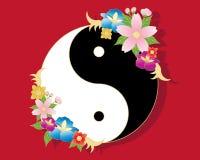 Fiori cinesi Illustrazione di Stock