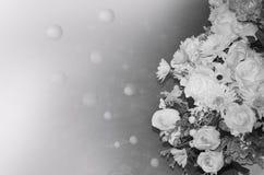 Fiori con il chiarore leggero Immagine Stock