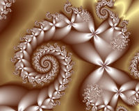 Fiori d'argento royalty illustrazione gratis
