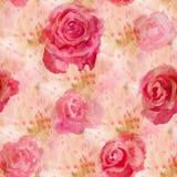 Fiori dell'acquerello rose illustrazione di stock