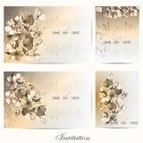 Fiori della ciliegia e rose 2 Fotografie Stock