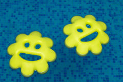 Fiori di aerobica dell'acqua fotografia stock libera da diritti
