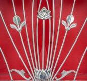 Fiori di arte decorativa della sbarra di ferro Fotografia Stock Libera da Diritti