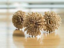 Fiori di legno Immagini Stock