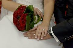 Fiori di nozze immagine stock