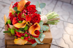 Fiori di nozze di autunno Fotografia Stock Libera da Diritti