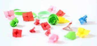 Fiori di origami Immagini Stock Libere da Diritti