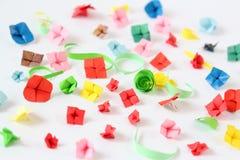 Fiori di origami Fotografia Stock