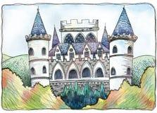 Fiori di poco IDA - il castello Illustrazione Vettoriale