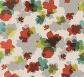Fiori 5 di terracotta stampa grafica Piccolo modello floreale illustrazione floreale, vettore floreale, floreale, vettore del mod illustrazione vettoriale