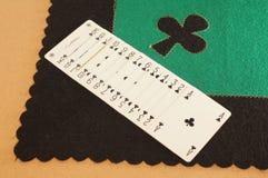 Fiori do jogo do Tablecloth. Foto de Stock