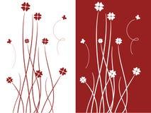 Fiori e farfalle royalty illustrazione gratis