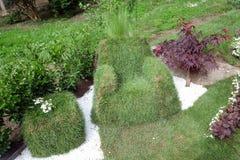 Fiori esposti su Floraart, mostra del giardino dell'internazionale 52 a Zagabria Fotografia Stock Libera da Diritti