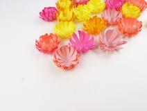 Fiori fatti di carta Il bouganvilla di carta di Flower Sorgente Immagine Stock