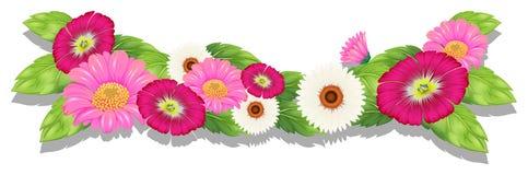 Fiori freschi Colourful royalty illustrazione gratis