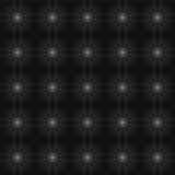 Fiori geometrici decorativi sottragga la priorità bassa Immagine Stock Libera da Diritti