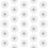 Fiori geometrici decorativi sottragga la priorità bassa Fotografia Stock