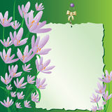 Fiori lilla royalty illustrazione gratis