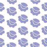 Fiori lilla, fondo senza cuciture Immagine Stock