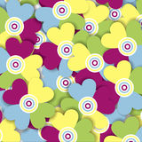 Fiori multicolori Royalty Illustrazione gratis