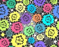 Fiori multicolori Immagine Stock Libera da Diritti
