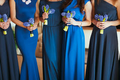 Fiori nuziali di nozze fotografia stock libera da diritti