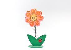 fiori Paperclip a forma di fotografia stock