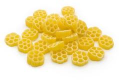 Fiori pasta on white Royalty Free Stock Image