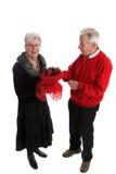 Fiori per il biglietto di S. Valentino Fotografia Stock Libera da Diritti