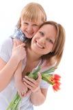 Fiori per la mamma Immagini Stock Libere da Diritti