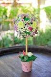 fiori piacevoli del mazzo Fotografie Stock Libere da Diritti