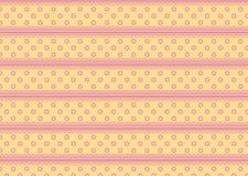 Fiori rosa arancioni Immagini Stock Libere da Diritti