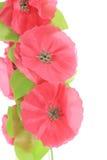 Fiori rossi artificiali. Fotografia Stock Libera da Diritti