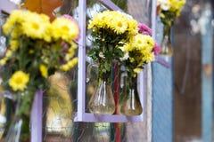 Fiori in vaso Fotografia Stock