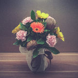 Fiori in vaso Fotografie Stock